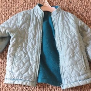 Other - Toddler girl 2 T reversible quilted heart jacket
